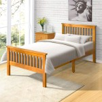 August Grove Wood Twin Platform Bed