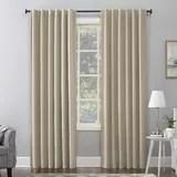 modern ivory cream curtains drapes