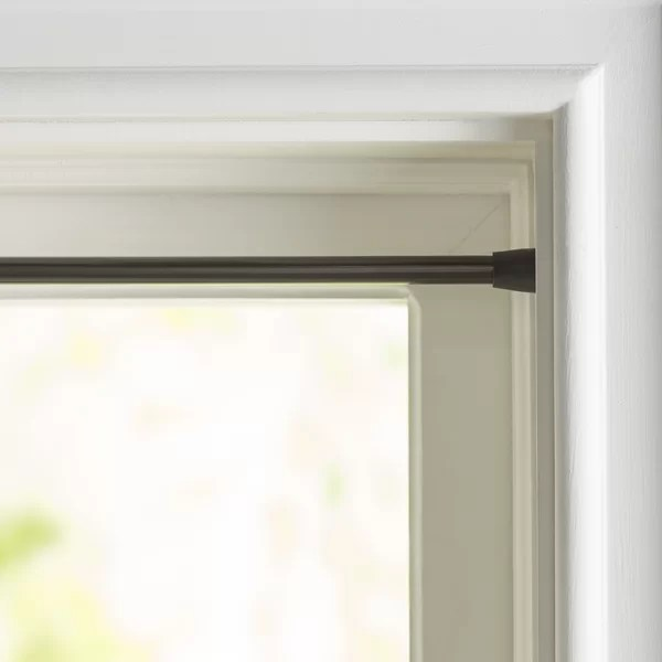 spring tension curtain rod