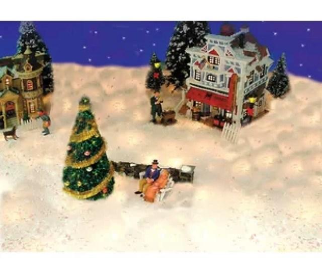 Snow Blanket For Mantle Or Christmas Village Display