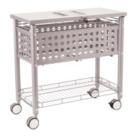 An example of a movable file cart from Wayfair.