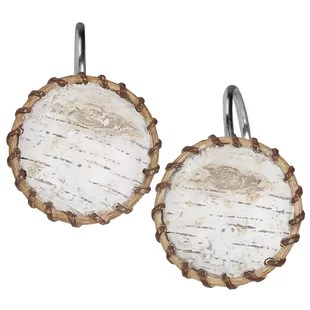 rustic shower curtain hooks you ll love