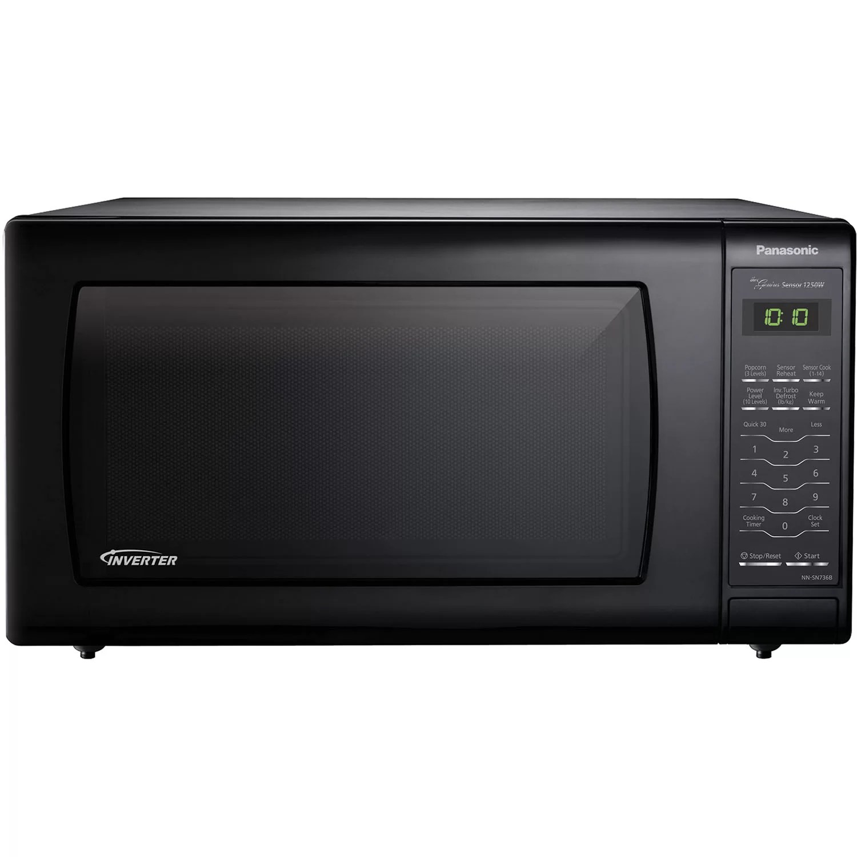 panasonic 22 1 6 cu ft countertop microwave with genius sensor and inverter technology reviews wayfair