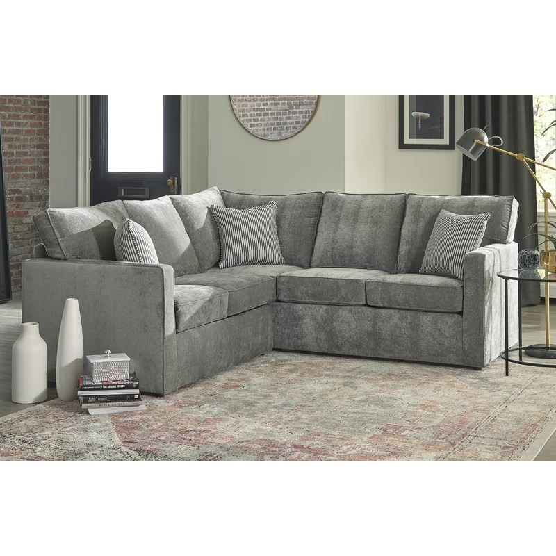annie may 74 5 symmetrical sleeper sectional