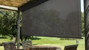 Keystone Fabrics Heavy Duty Semi Sheer Outdoor Roller
