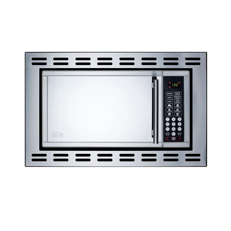 summit appliance 23 38 0 9 cubic feet cu ft 900 watt watt built in microwave reviews wayfair