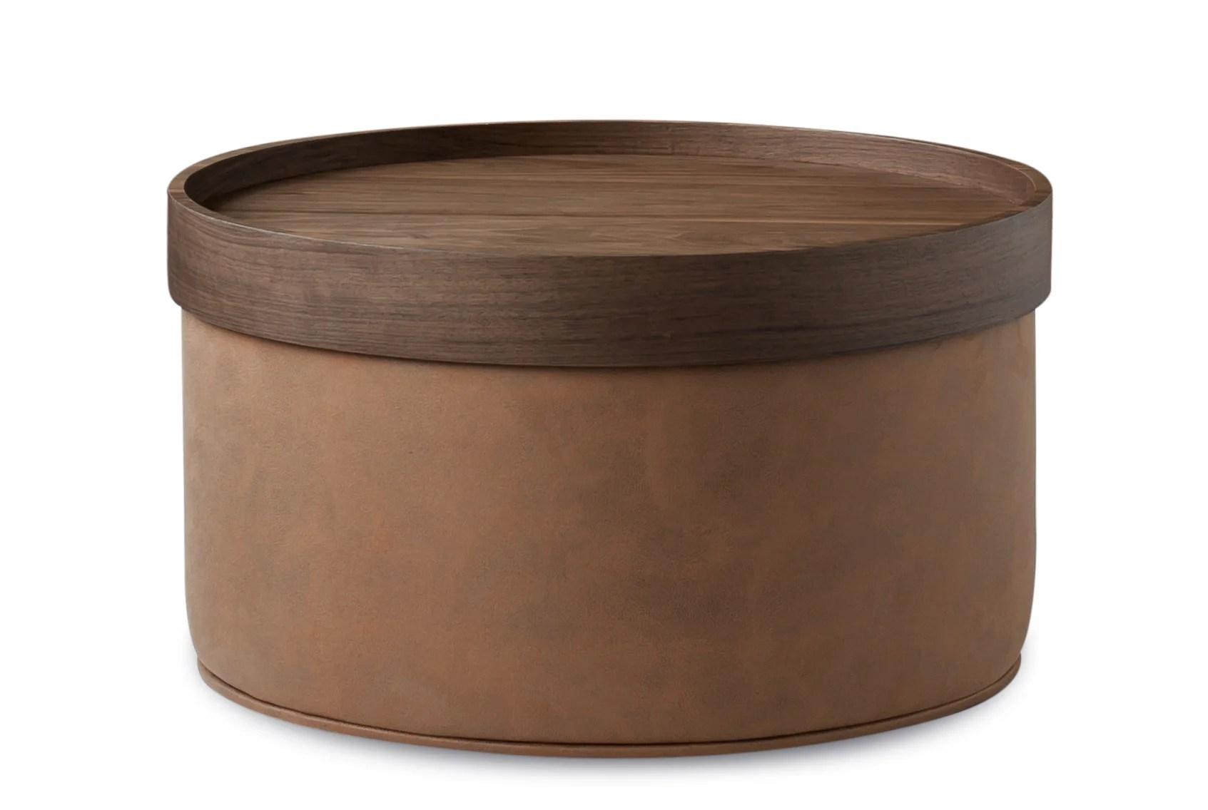 tray top ottomans poufs free