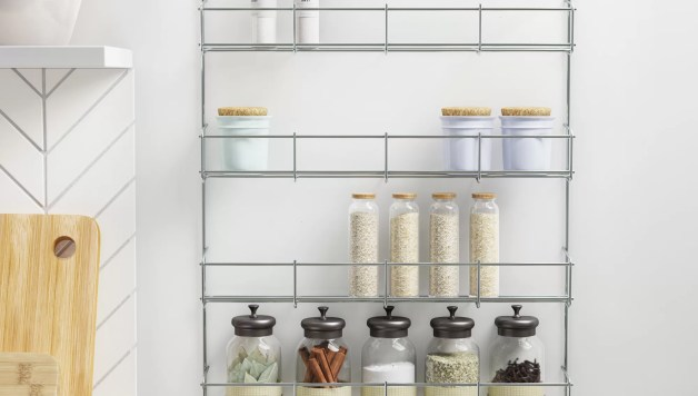 Wayfair Basics 32 Jar Wall Mounted Cabinet Spice Rack Reviews Wayfair Co Uk