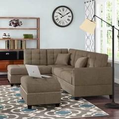 shabby chic sectional sofas wayfair