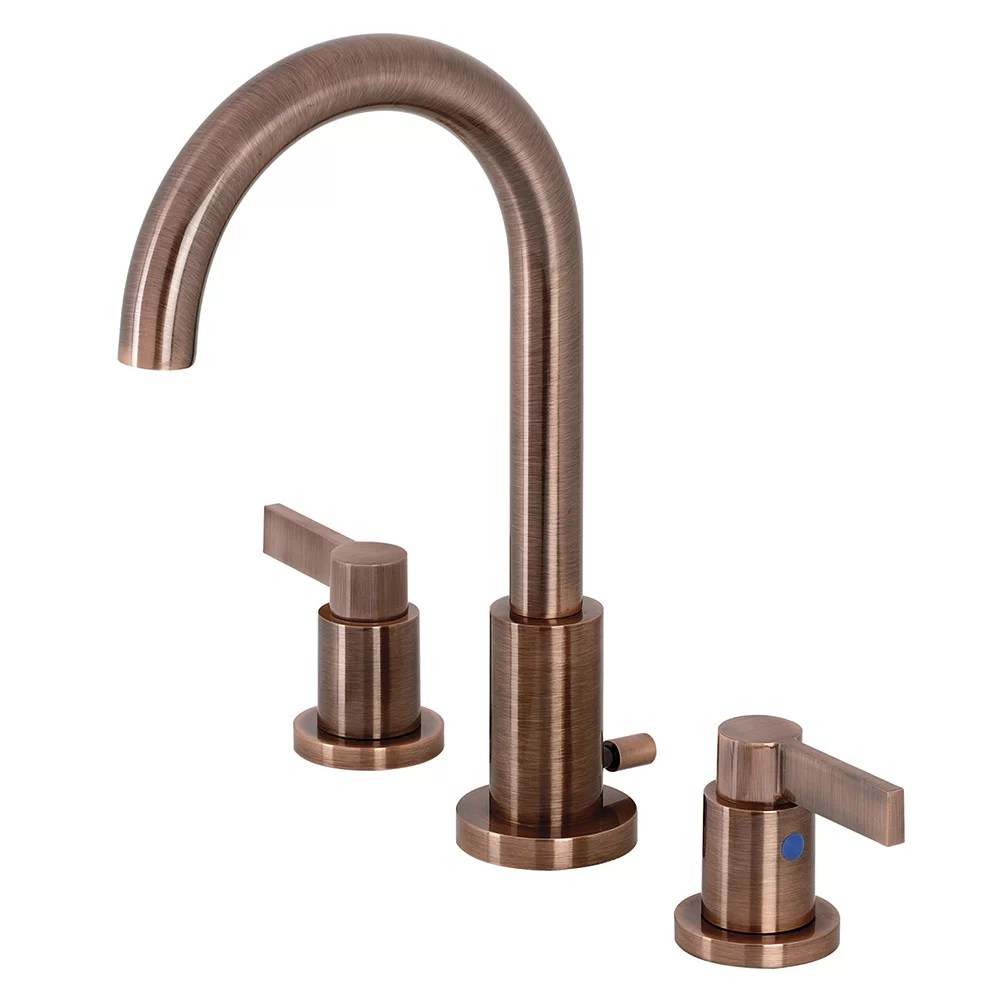 high arc vessel sink bathroom faucet with drain assembly