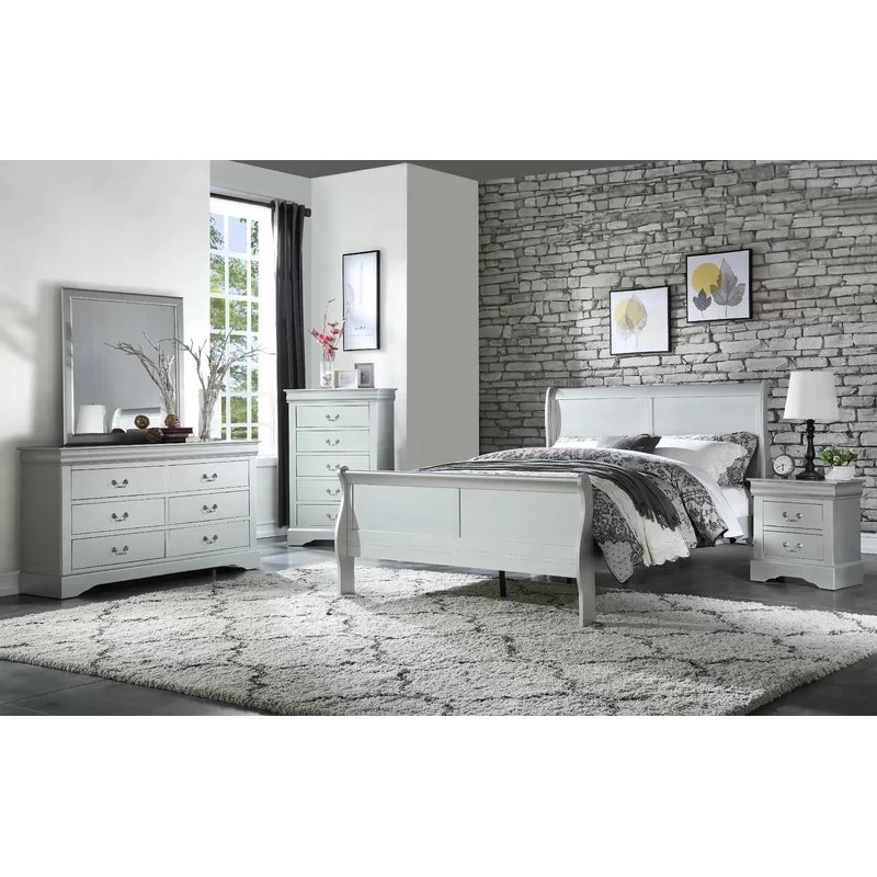 Emily Sleigh Configurable Bedroom Set
