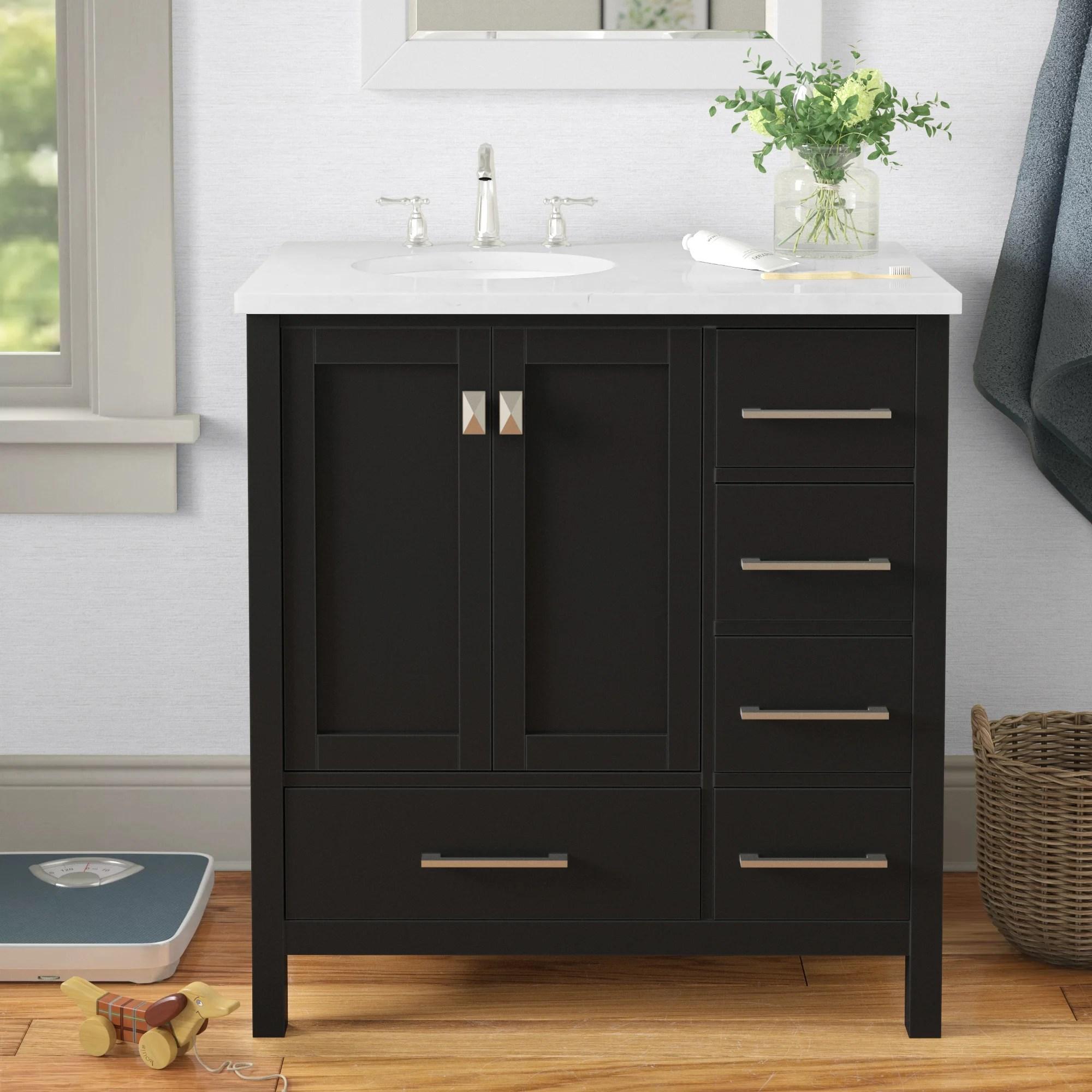 emilee 36 single bathroom vanity set