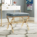 Gold Vanity Accent Stools You Ll Love In 2020 Wayfair