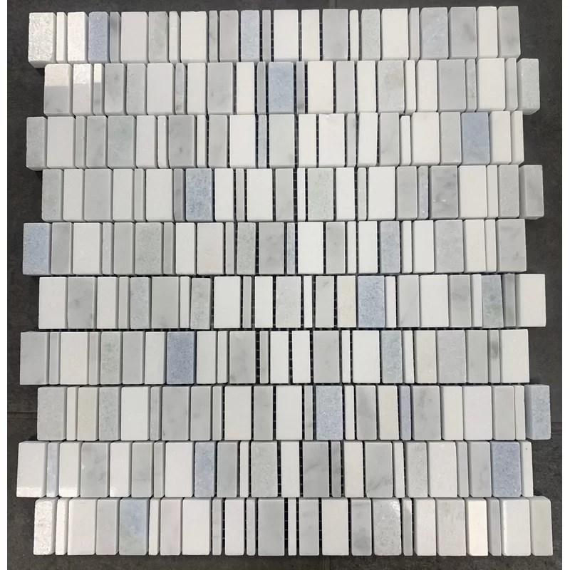 piccolo opus waterfall random sized natural stone mosaic tile