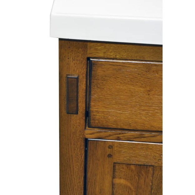 "sagehill american craftsman 60"" bathroom vanity base 