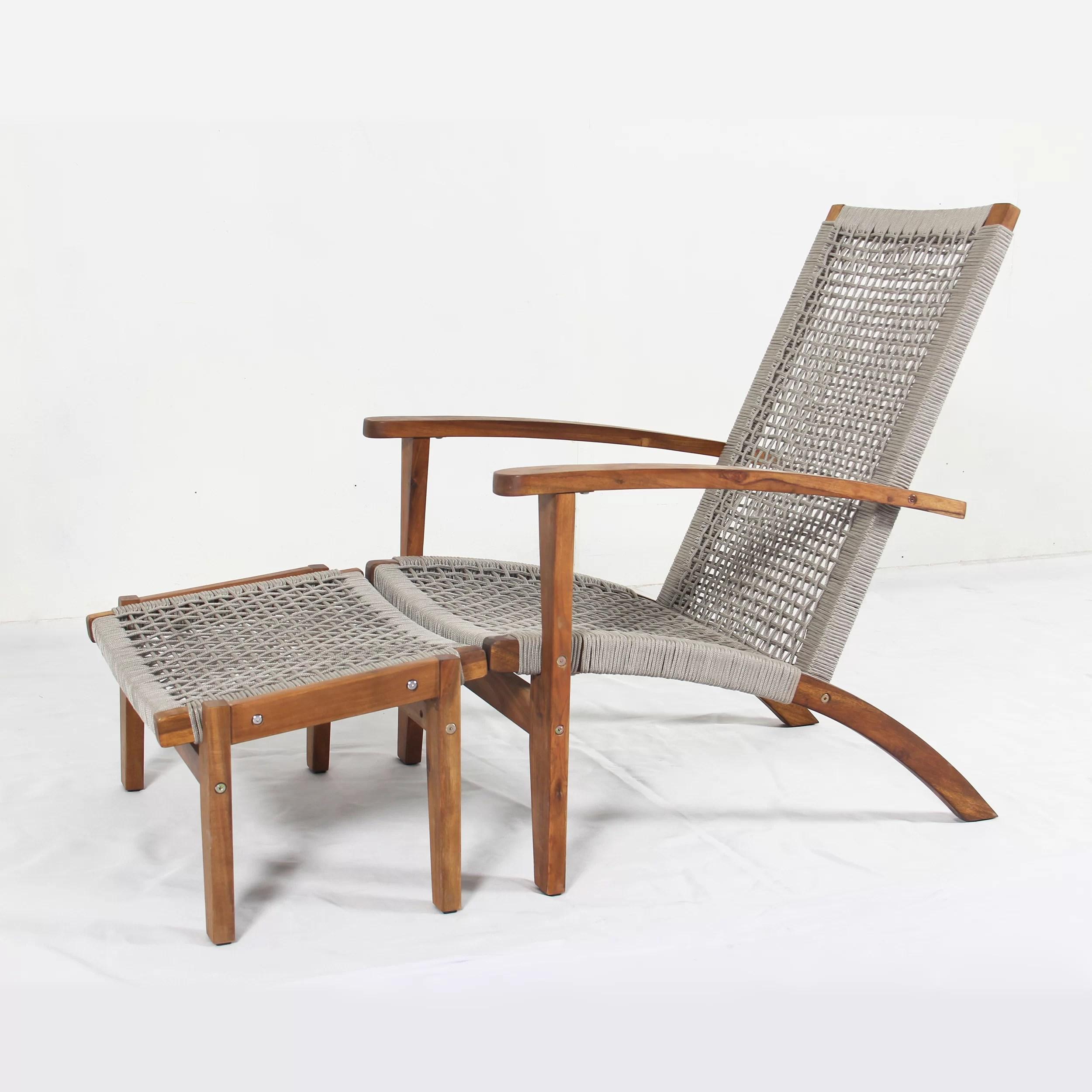 rope woven chair cheaper than retail