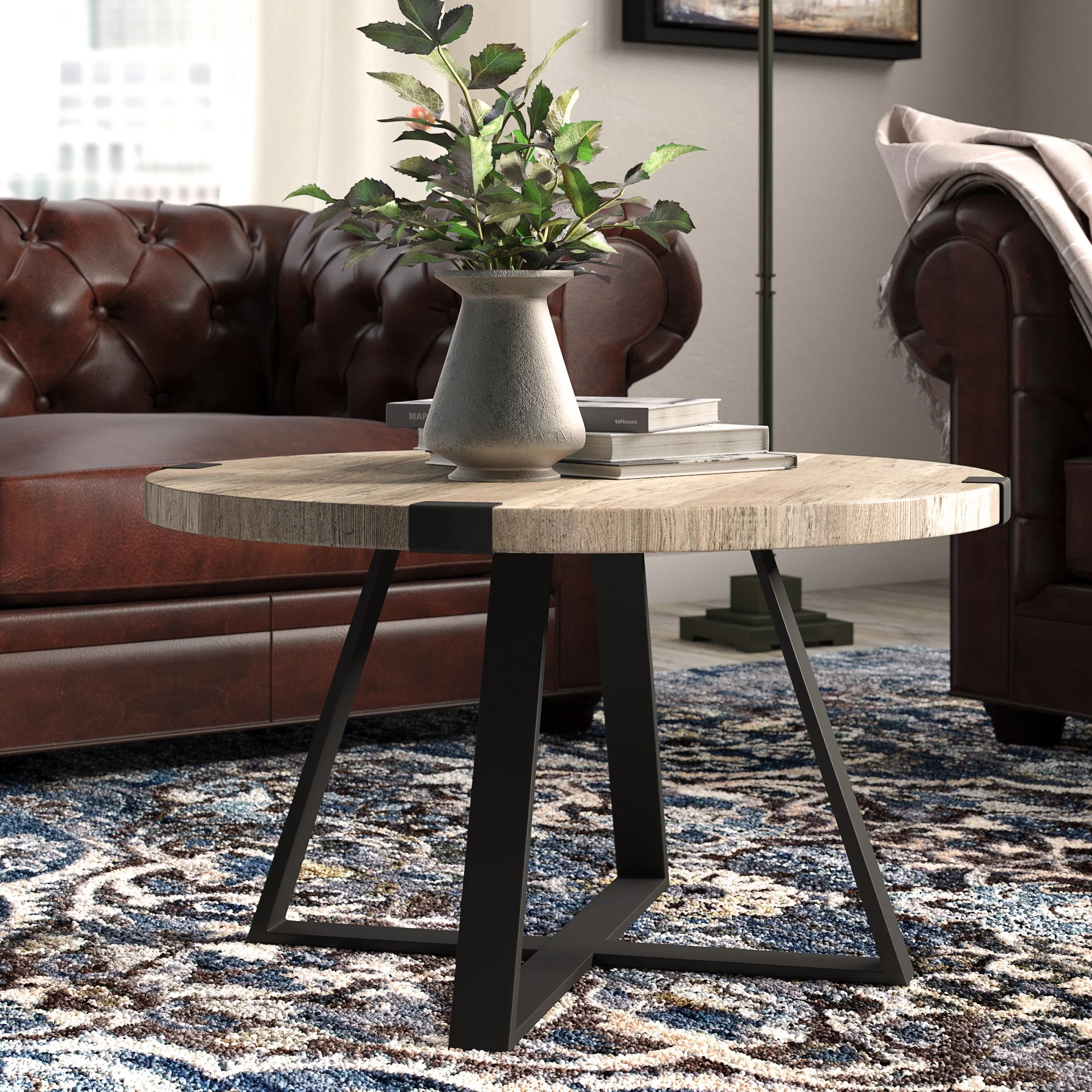 round coffee tables free shipping