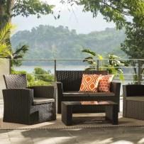 Charmain Sofa Set with Cushions
