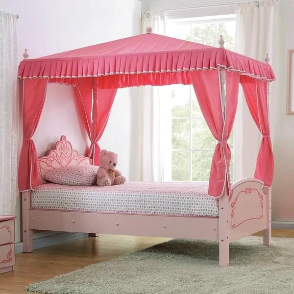 garnett twin canopy bed