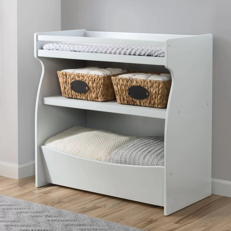 White Wood Changing Tables
