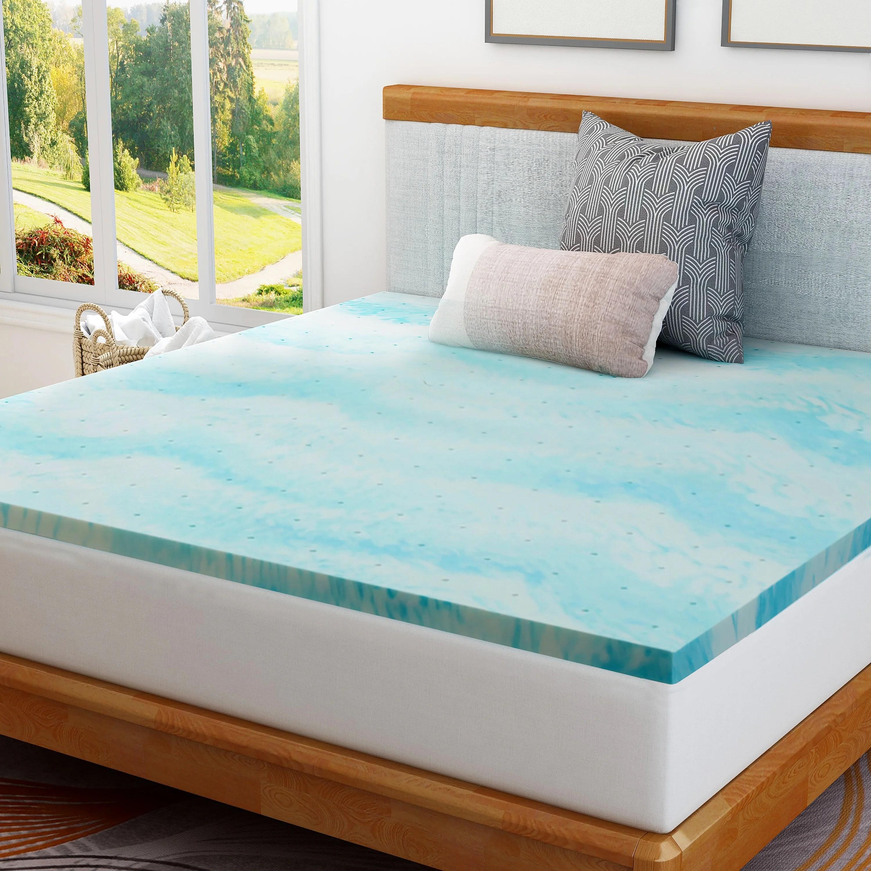 kane 2 gel memory foam mattress topper