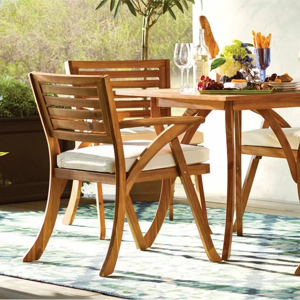 wood patio furniture you ll love in