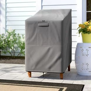 heavy duty premium stackable patio chair cover