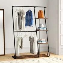 https www wayfair com storage organization sb1 black clothes racks garment racks c1833564 a144197 458517 html