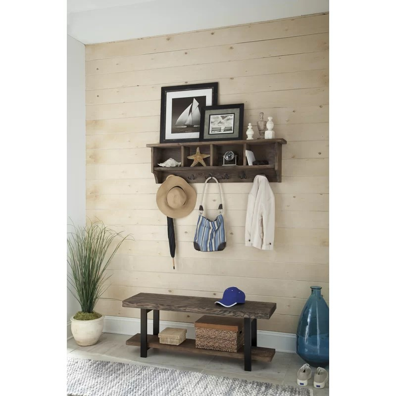 Mudroom Hall Trees With Storage And Lockers