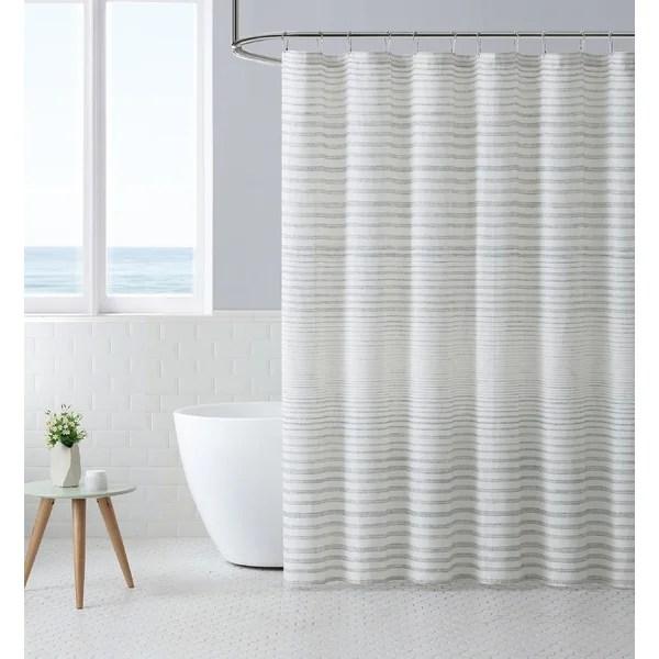 navy blue shower curtain