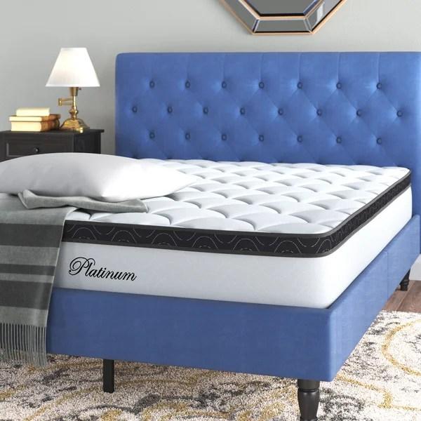 10 firm pillow top mattress