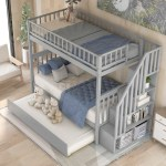 Isabelle Max Polebridge Twin Over Twin Bunk Bed With Trundle Reviews