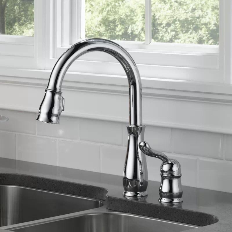delta faucet leland single handle