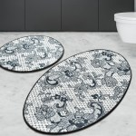 Canora Grey Mcaleer Lace 2 Piece Bath Rug Set Wayfair