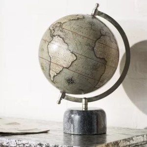 Globe Accents You ll Love   Wayfair Globe with Marble Base