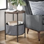 Round End Side Tables You Ll Love In 2020 Wayfair