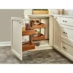Rev A Shelf Blind Corner Cabinet Organizer Pull Out Pantry Wayfair
