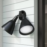 Latitude Run Lowe Outdoor Security Flood Light Reviews Wayfair