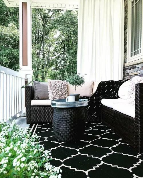 patio furniture farmhouse room design