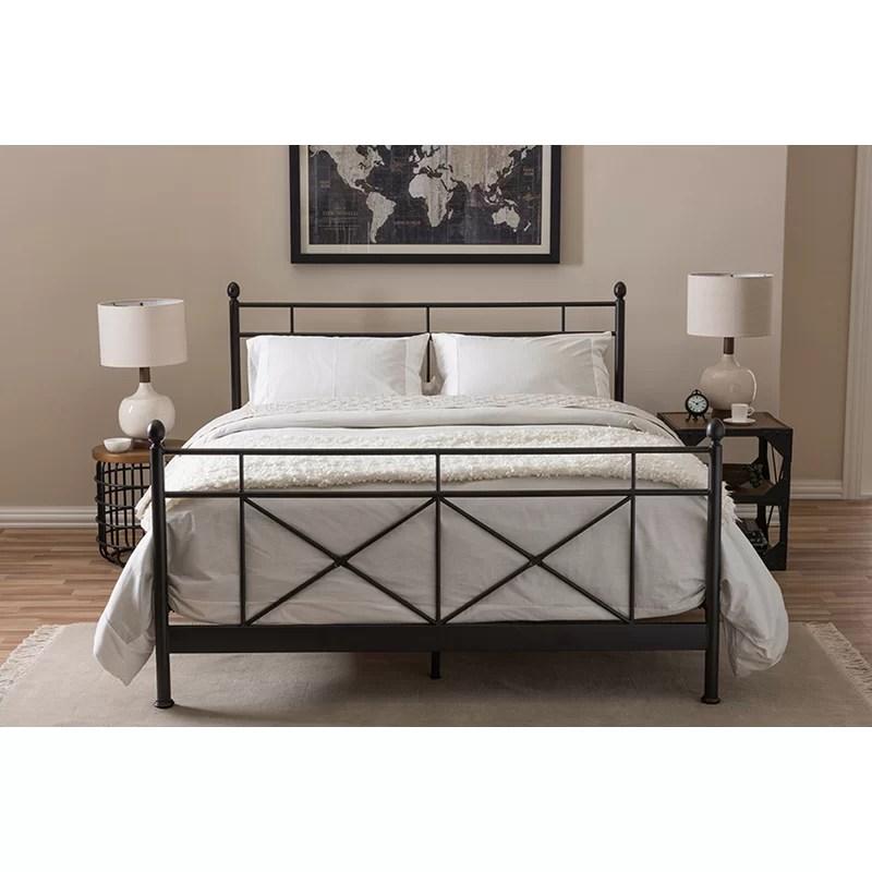 hisako queen platform bed