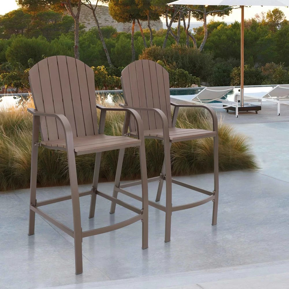 wensley counter height 28 3 patio bar stool