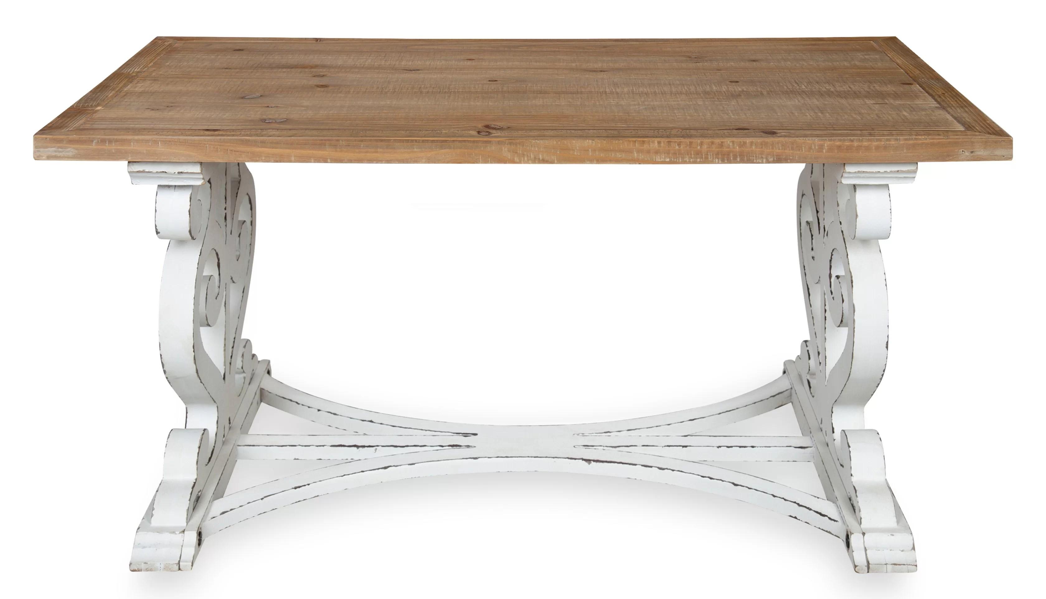 hatton trestle coffee table