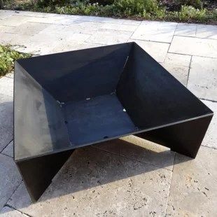 Image result for square fire pit