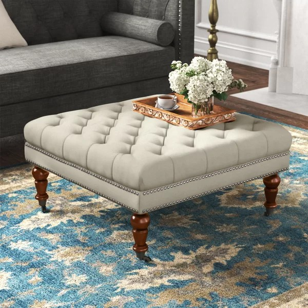 ottoman as coffee table