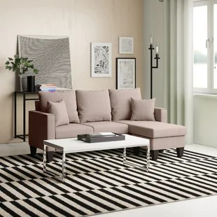 janna 73 reversible sofa chaise with ottoman