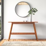 Maeve Solid Wood Console Table Reviews