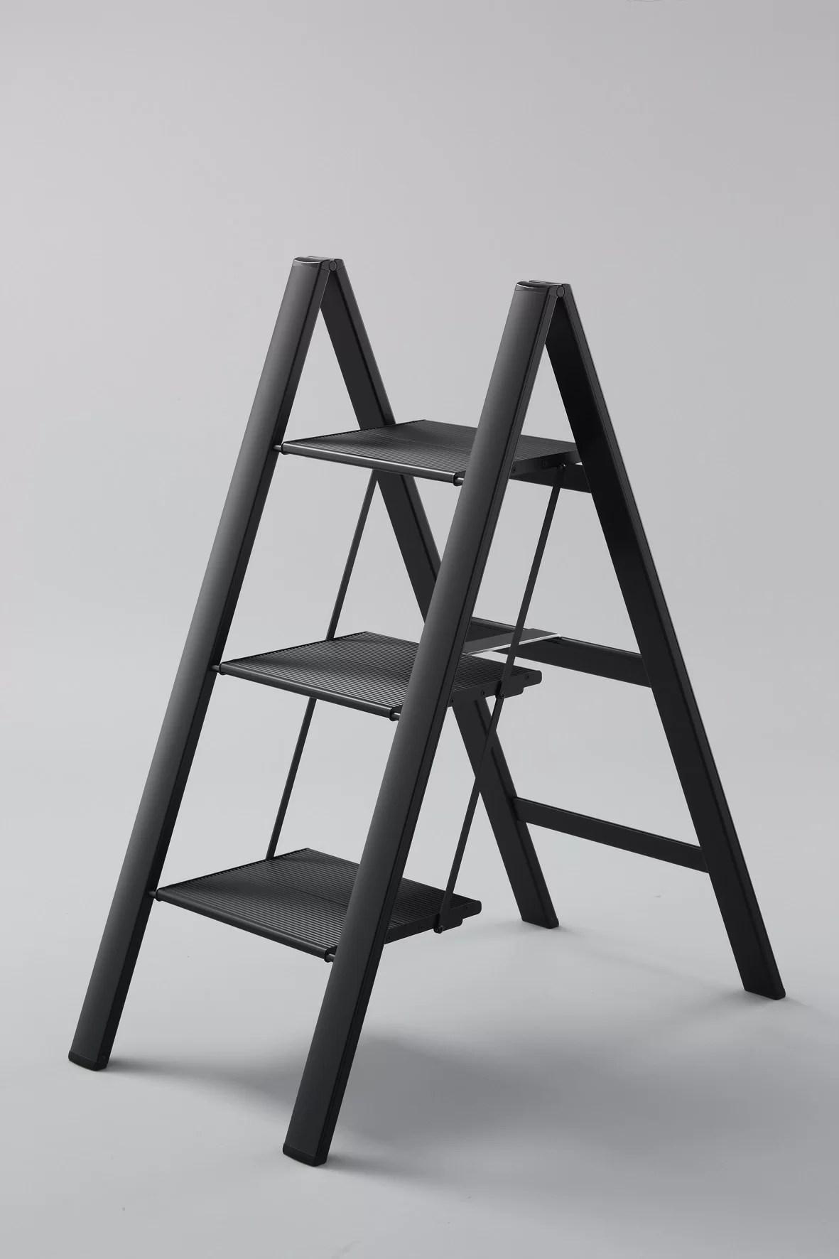 Wfx Utility 3 Step Aluminum Lightweight Folding Step Stool Reviews Wayfair
