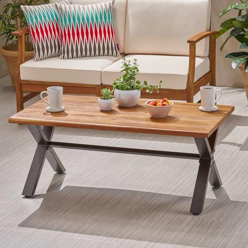 barboza acacia coffee table