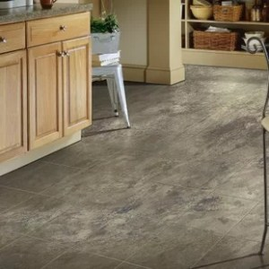 Stone Look Laminate Flooring   Wayfair Stone Creek 12  x 48  x 8mm Tile Laminate Flooring in Azul