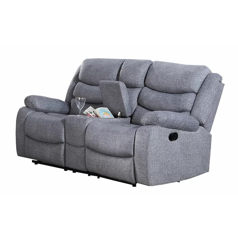 soleil 74 pillow top arm reclining loveseat